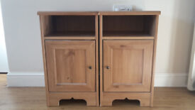 Chest of drawers & bedside tables