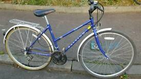 Ladies Raleigh Pioneer Classic Hybrid Bicycle For Sale in Great Riding Order