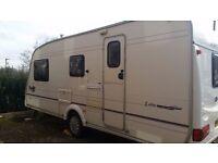 Bailey Pageant Loire 4 Berth Touring Caravan 2002
