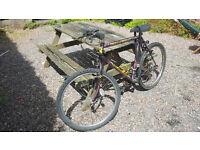 "Falcon Cheetah 21"" Mens Mountain Bike, Purple, 21 Gears, Cycling, Bicycle, Located in Bristol"