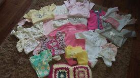 70 items -0-3 girl bundle