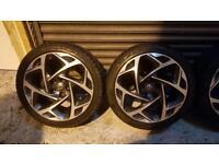 "Vauxhall Insignia vx line atomic wheels 19"""