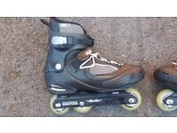 Salomon jfk skates size 8 in very good condition!can deliver or post!