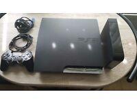 PS3 SLIM 320GB ON LATEST REBUG CEX/DEX With buffalo 2TB EXTERNAL HDD & 176 GAMES