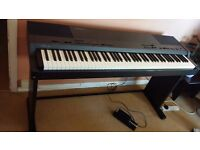 TECHNICS DIGITAL PIANO SX- PX7 IN VERY GOOD CONDITION WORKS PERFECT 88WEIGHT KEYS