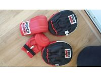 sparring pads & gloves