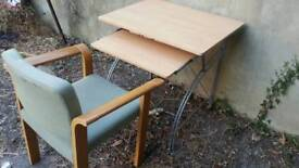 Study/Computer table and chair