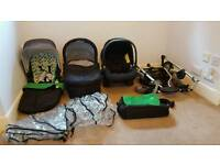 Mamas and Papas Solo Pushchair and Travel System