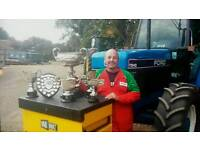 Ford 7840 royal east berks championship winning tractor