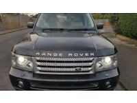 Range Rover Sport 2.7 4x4 Full Service History