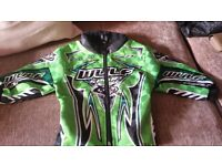 WULFSPORT MOTORCROSS TRAILS OFF ROAD CHILDS JACKET SIZE 24