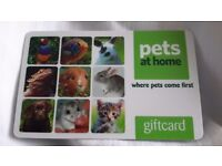 £100 Pets at Home gift card - £90 ono