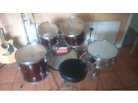Drum Kit premier Olympic with extras