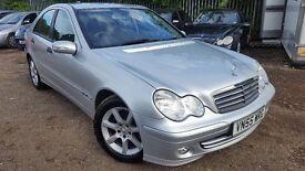 Mercedes-Benz C Class 1.8 C180 Kompressor Classic SE 4dr, AUTOMATIC,FSH,HPI CLEAR,1 YEAR MOT,2 KEYS