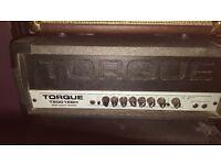 TORQUE T200 BASS AMP IN GOOD ORDER