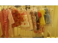 baby girls clothes selection 6-9 mths