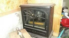 Electric fire heater
