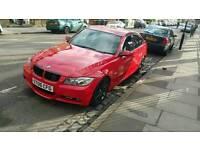 BMW 330D MSPORT £5300 O.N.O FULL SERVICE HISTORY CUSTOM LED REAR LIGHTS BEAUTIFUL RED COLOUR