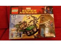 LEGO 76004 - MARVEL SUPER HEROES Spider-Man Spider-Cycle Chase
