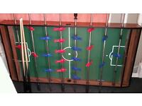 Table snooker, air hockey, football. Fan working all parts included with legs