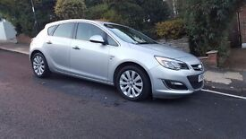 VAUXHALL ASTRA AUTOMATIC 1.6 2013 LOW MILEAGE