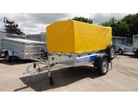 Car trailer 6X4 single axle 750kg