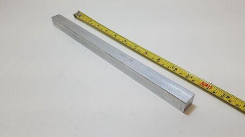 "6061 Aluminum Square Bar, 3/4"" Square x 12"" long, Solid Stock, T6511"