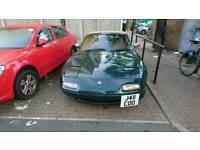 Mazda mx5 1.6 eunos British racing green 130k
