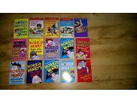 15 Horrid Henry story books