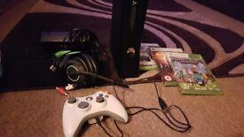Xbox with minecraft etc