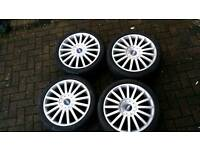 FORD ST 18 INCH ALLOY WHEELS 5X108 MONDEO FOCUS CONNECT S MAX GALAXY C MAX KUGA VOLVO