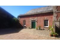 Two bedroom attached cottage in Listed building. Country location between Truro and Falmouth