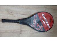 Dunlop Classic 25 tennis racket and tennis balls