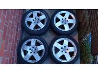 Audi or vw alloys 5x112x17inch