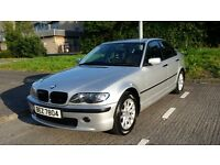 SUPER CLEAN GLEAMING SILVER,2005 BMW 318i SE FOUR DOOR 85000 MILES,ford,seat,audi,mercedes,honda,,