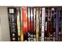 64 Horror dvds