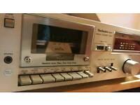 Technics M17,stereo cassette deck, vintage, classic,rare