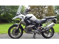 BMW R1200GS - Silver - one owner, garaged; private sale