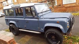 WANTED OLD LAND ROVER DEFENDERS 110 OR 90 1992 OR OLDER