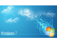 WINDOWS 7 INSTALL FRESH CLEAN NEW - PC LAPTOP COMPUTER CHEAP REPAIR REMOVE VIRUS BARGAIN £25