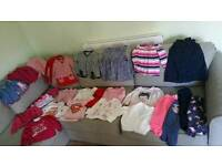 Bundle of 18-24 month baby girls clothes excellent
