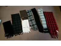 Casual scarf (Barbour, cedar wood state)