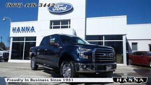 2017 Ford F-150 *0% 72 MONTHS!*SUPERCREW XLT*XTR*4X4 5.0L V8 GAS