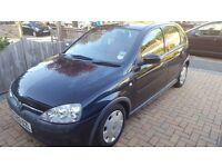 Vauxhall Corsa 1000cc Black, petrol, manual, 5dr, Cheap tax & insurance