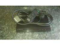 Sony Dvd player with remote control.