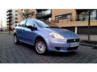 FIAT GRANDE PUNTO 1.2 5 DOOR 2006 FSH LOW MILEAGE LOW INSURANCE CITY DRIVE