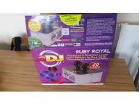 adj american dj ruby royal laser lazer lighting effect new in box unused dj