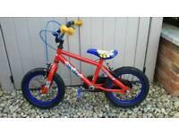 Kids spiderman bike age 4- 5
