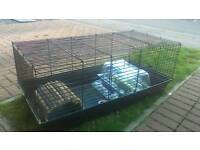 indoor large rabbit cage and hamster cage sold together