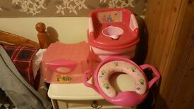 Potty and accessories